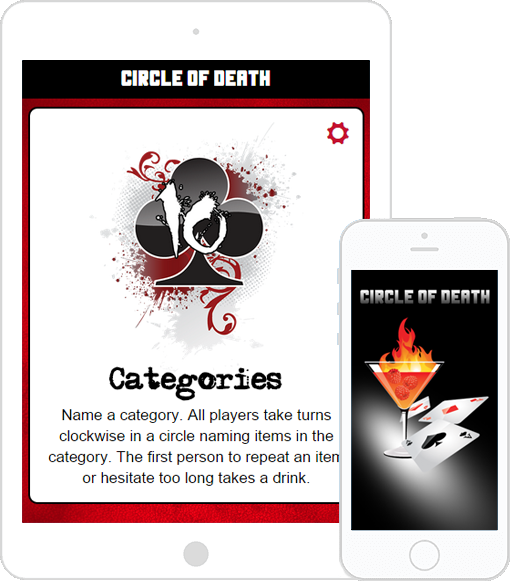 Circle of Death - Mobile App Drinking Game | Digimo Apps